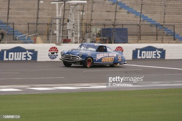 Hudson hornet stock photos and pictures getty images for Lowe s motor speedway