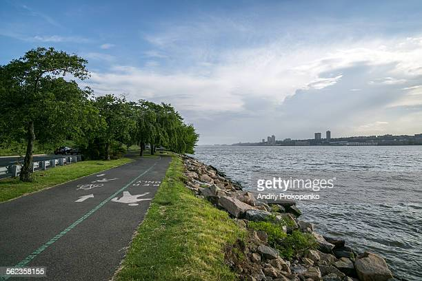 Hudson River Greenway in Manhattan