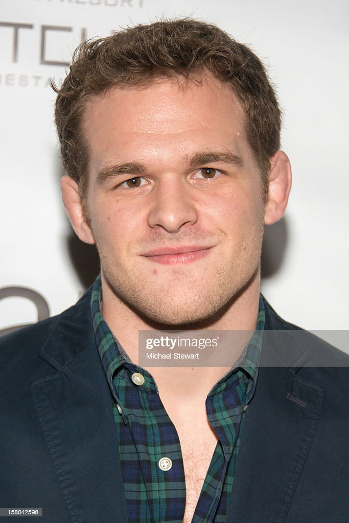 Hudson Taylor attends 'BARE The Musical' Opening Night at New World Stages on December 9, 2012 in New York City.