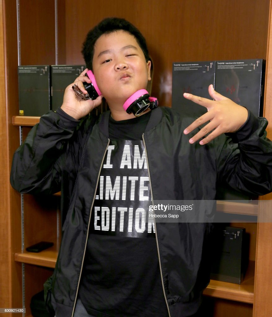 Hudson Yang at Backstage Creations Celebrity Retreat at Teen Choice 2017 - Day 1 at Galen Center on August 12, 2017 in Los Angeles, California.
