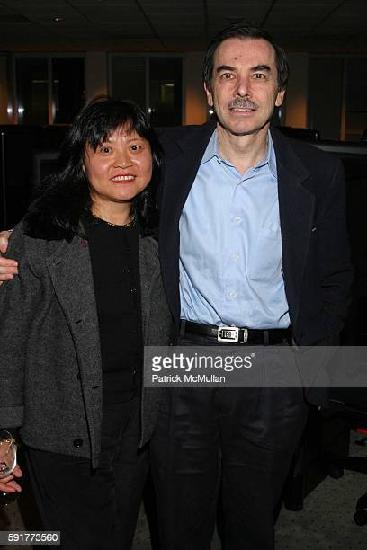 Huei Lazowsky and Simon Lazowsky attend A Centennial Celebration for Harold Arlen at The Museum of Television and Radio on October 17 2005 in New...