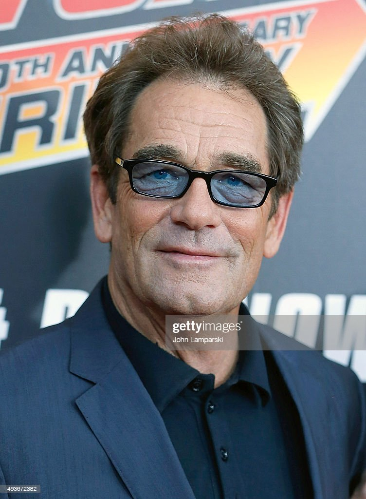Huey Lewis attends 'Back To The Future' New York special anniversary screening at AMC - huey-lewis-attends-back-to-the-future-new-york-special-anniversary-picture-id493672382