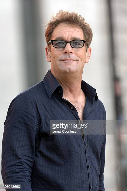Huey Lewis during Huey Lewis The News Perform on 'Good Morning America' July 28 2006 at Bryant Park in New York City New York United States