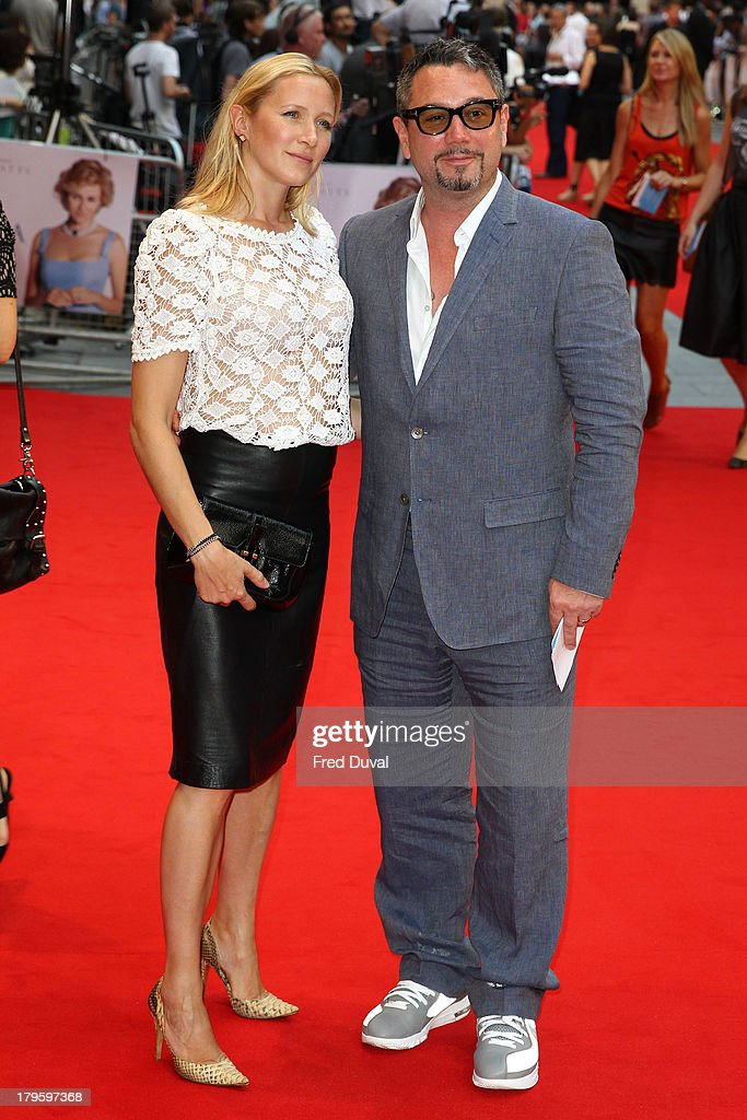 <a gi-track='captionPersonalityLinkClicked' href=/galleries/search?phrase=Huey+Morgan&family=editorial&specificpeople=546528 ng-click='$event.stopPropagation()'>Huey Morgan</a> (R) and Rebecca Morgan attend the World Premiere of 'Diana' at Odeon Leicester Square on September 5, 2013 in London, England.