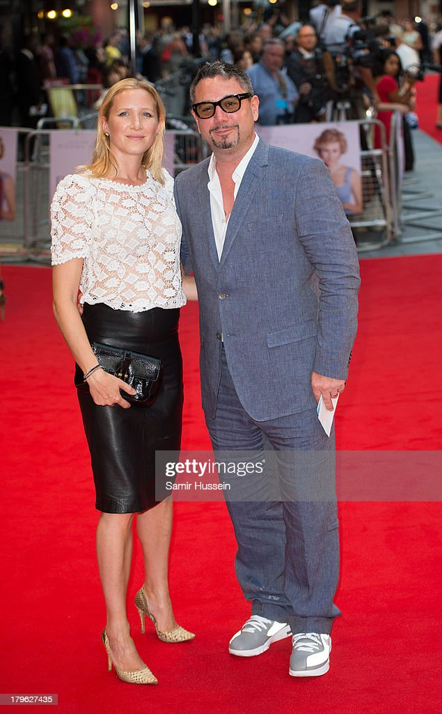Huey Morgan and Rebecca Morgan attend the World Premiere of 'Diana' at Odeon Leicester Square on September 5, 2013 in London, England.