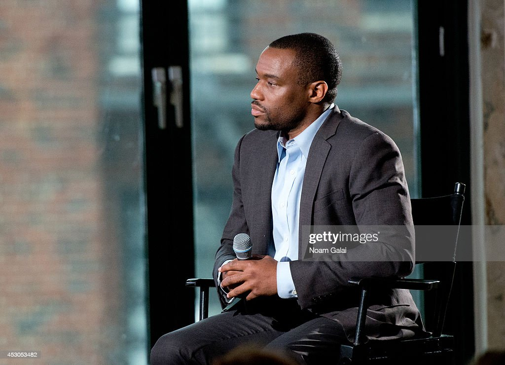 HuffPost Live host Marc Lamont Hill attends AOL's Build Speakers Series: Ziggy Marley on August 1, 2014 in New York, United States.