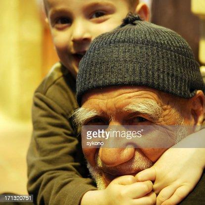 Hug full of love