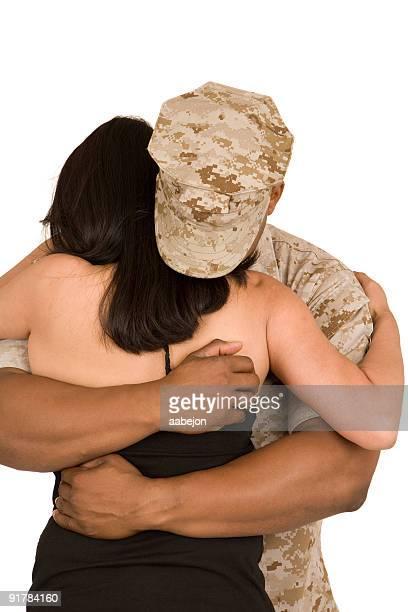 Hug au revoir