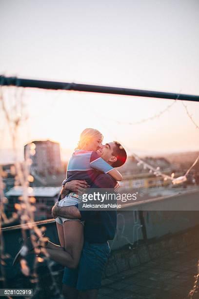 Hug sur le toit