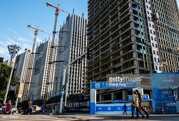 A huge apartment construction site beside Chu River and Han Street business district developed by Wanda Group China might introduce more easing...