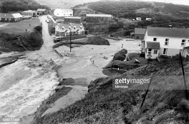 Huge areas of Wales were devastated following the storms of 1987 the worst in almost 300 years The centre of Haverfordwest was sealed off after five...