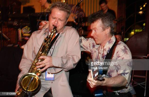 Huge Grooves Peter White during 947 The Wave Presents LA Jazz Nights at The Garden of Eden in Hollywood California United States