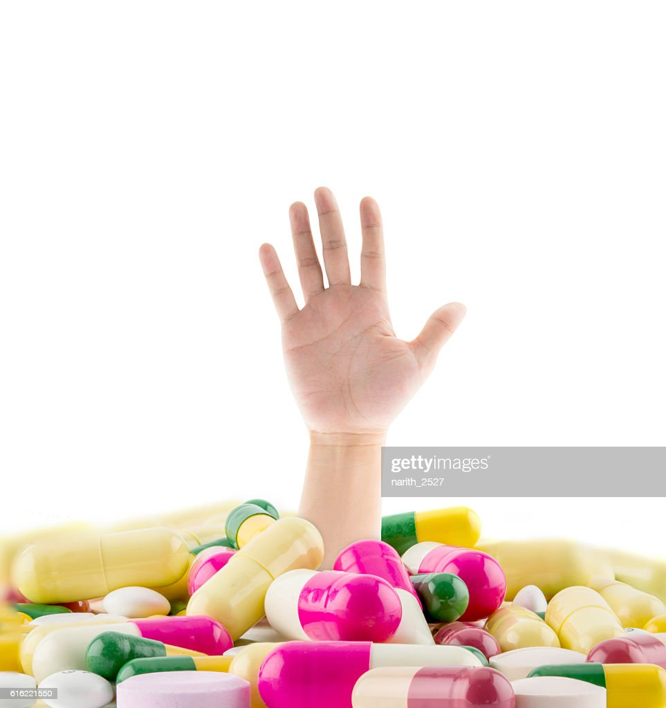 huge pile of various pills : Photo