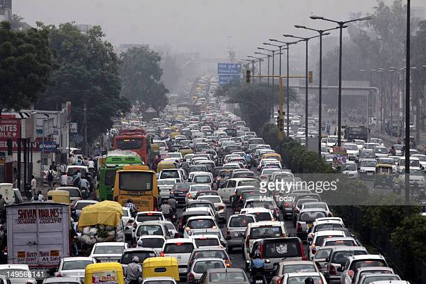 Huge traffic jam in the capital due to Nothern grid failure on Monday 30th July 2012 At least 680 traffic lights stopped functioning becase of the...