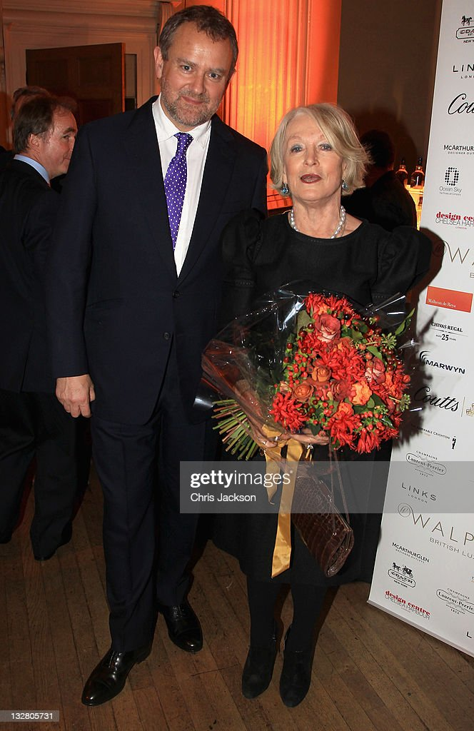 <a gi-track='captionPersonalityLinkClicked' href=/galleries/search?phrase=Hugh+Bonneville&family=editorial&specificpeople=228840 ng-click='$event.stopPropagation()'>Hugh Bonneville</a> and Lucia van der Post at the Walpole Awards of Excellence 2011 at Banqueting House on November 14, 2011 in London, England.