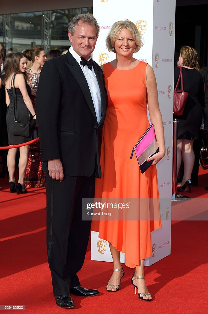Hugh Bonneville and Lulu Williams arrive for the House Of Fraser British Academy Television Awards 2016 at the Royal Festival Hall on May 8, 2016 in London, England.
