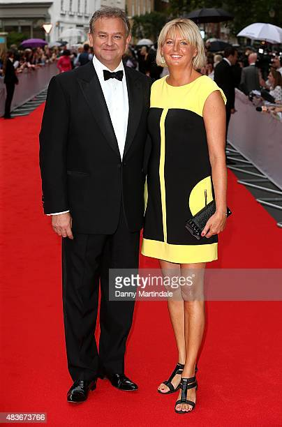 Hugh Bonneville and Lulu Williams attend as BAFTA celebrate 'Downton Abbey' at Richmond Theatre on August 11 2015 in Richmond England