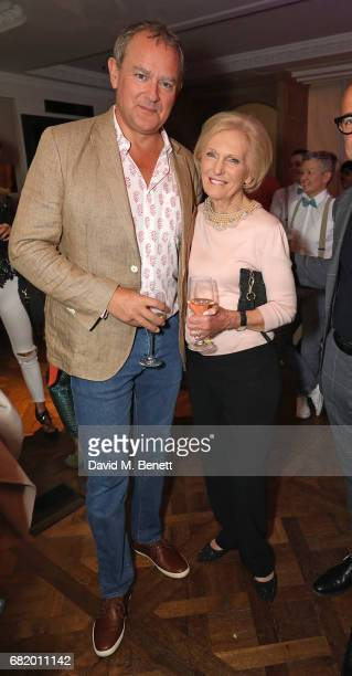 Hugh Bonneville and Mary Berry at the fifth annual Fortnum Mason Food and Drink Awards on May 11 2017 in London England