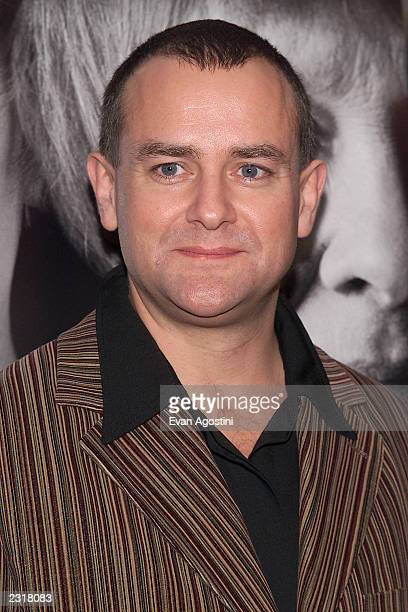 Hugh Bonneville arriving at the world film premiere of Miramax's 'Iris' at the Paris Theatre in New York City 12/2/2001 Photo Evan...