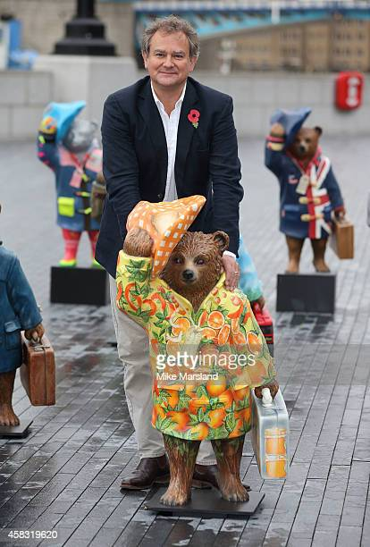Hugh Bonneville at the launch of The Paddington Trail on November 3 2014 in London England