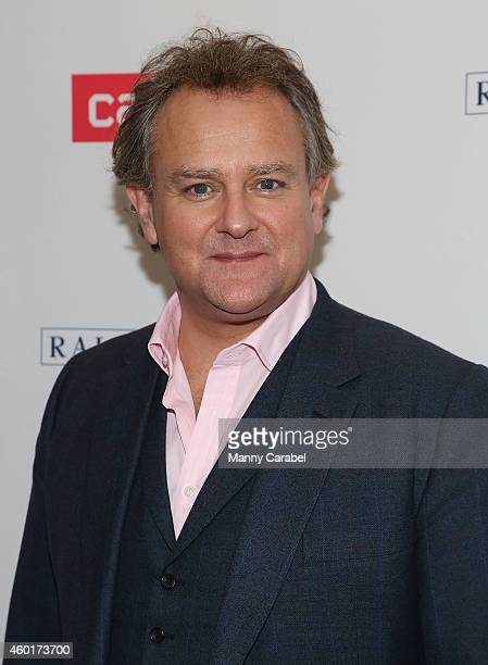 Hugh Bonneville attends Downton Abbey's Season Five Cast Photo Call at Millenium Hotel on December 8 2014 in New York City