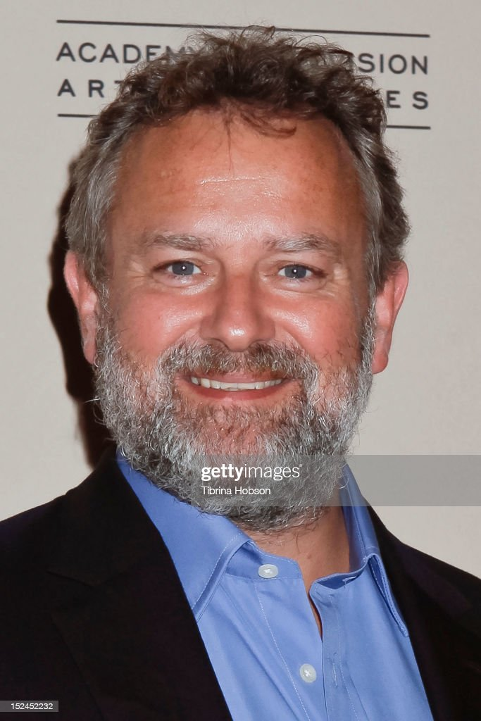 <a gi-track='captionPersonalityLinkClicked' href=/galleries/search?phrase=Hugh+Bonneville&family=editorial&specificpeople=228840 ng-click='$event.stopPropagation()'>Hugh Bonneville</a> attends the 64th primetime Emmy Awards writers' nominee reception at Academy of Television Arts & Sciences on September 20, 2012 in North Hollywood, California.