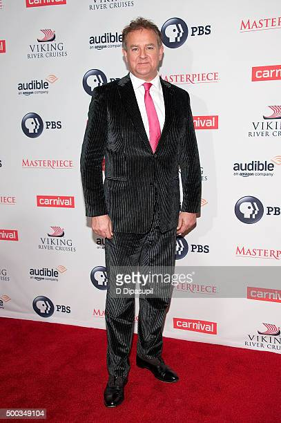 Hugh Bonneville attends the 'Downton Abbey' series season six premiere at the Millenium Hotel on December 7 2015 in New York City