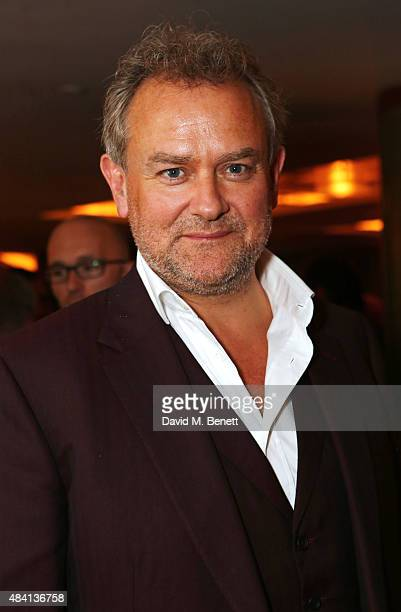 Hugh Bonneville attends the Downton Abbey wrap party at The Ivy on August 15 2015 in London England