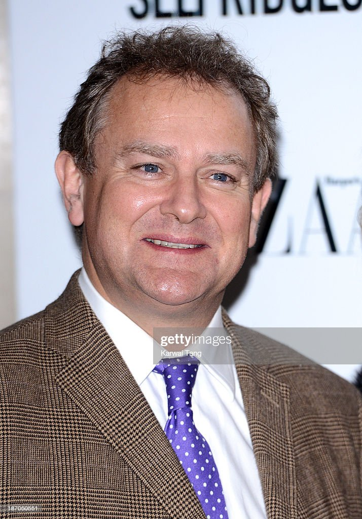 Hugh Bonneville attends the Harpers Bazaar Women of the Year Awards at Claridge's Hotel on November 5, 2013 in London, England.