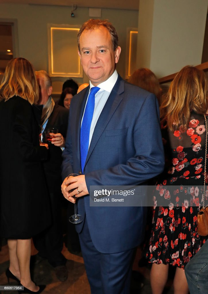 Hugh Bonneville attends the launch of The National Cafe at the National Gallery on March 9, 2017 in London, England.