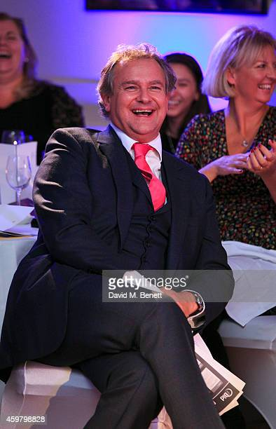 Hugh Bonneville attends the National Youth Theatre Fundraiser 'Strictly Come Downton' at Bloomsbury Hotel on December 1 2014 in London England