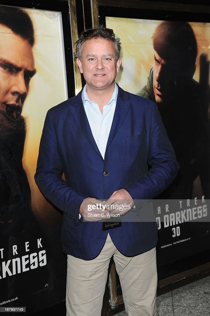 Hugh Bonneville attends the UK Premiere of 'Star Trek Into Darkness' at The Empire Cinema on May 2, 2013 in London, England.