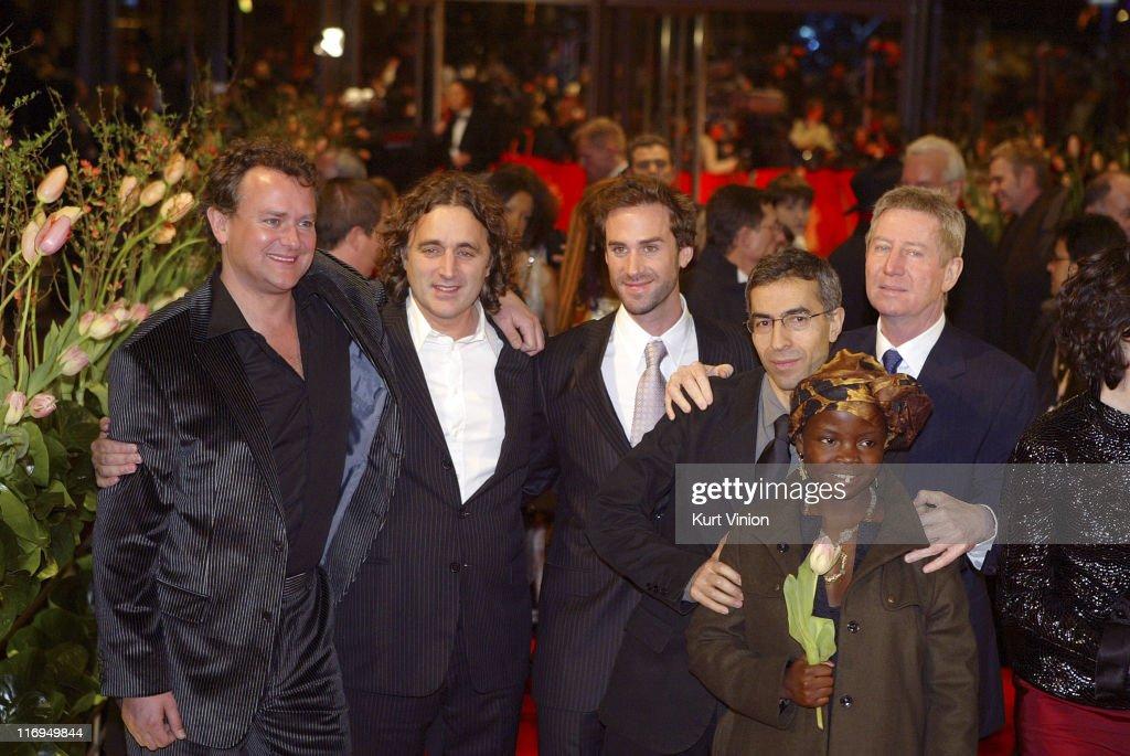 "55th Berlin International Film Festival - ""Man to Man"" - Arrivals"