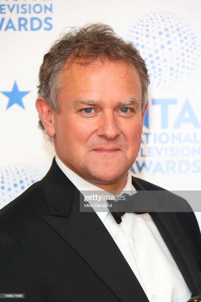 <a gi-track='captionPersonalityLinkClicked' href=/galleries/search?phrase=Hugh+Bonneville&family=editorial&specificpeople=228840 ng-click='$event.stopPropagation()'>Hugh Bonneville</a> poses in the winners room at the National Television Awards at 02 Arena on January 23, 2013 in London, England.