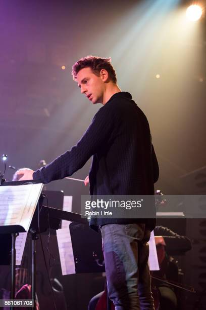 Hugh Brunt conducts the London Contemporary Orchestra in Organ Reframed at the Union Chapel on October 13 2017 in London England