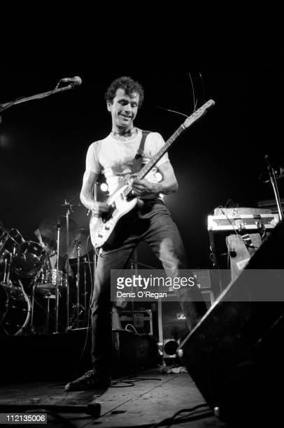 Hugh Cornwell of The Stranglers live in London January 1977