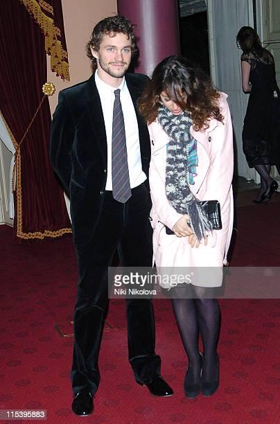 Hugh Dancy and Annie Morris during Diana Princess of Wales By Mario Testino at Kensington Palace in London Great Britain