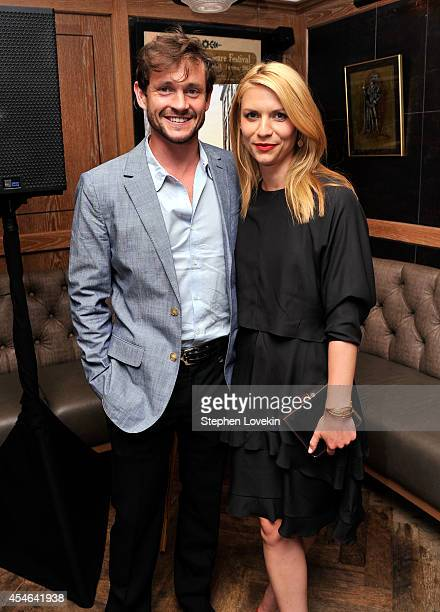 Hugh Dancy and Claire Danes attend a Private Reception And Screening Of Homeland Season 4 on September 4 2014 in New York City