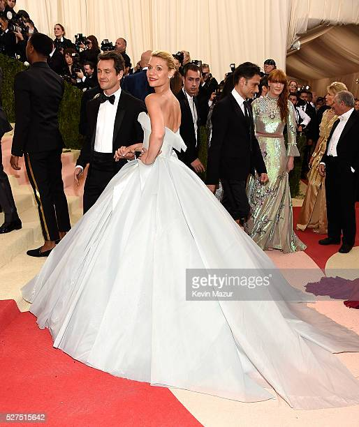 Hugh Dancy and Claire Danes attend 'Manus x Machina Fashion In An Age Of Technology' Costume Institute Gala at Metropolitan Museum of Art on May 2...