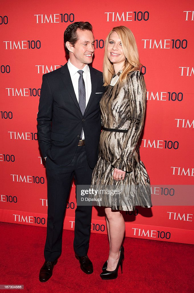 Hugh Dancy (L) and Claire Danes attend the 2013 Time 100 Gala at Frederick P. Rose Hall, Jazz at Lincoln Center on April 23, 2013 in New York City.