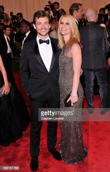 Hugh Dancy and Claire Danes attend the Costume Institute Gala for the 'PUNK Chaos to Couture' exhibition at the Metropolitan Museum of Art on May 6...