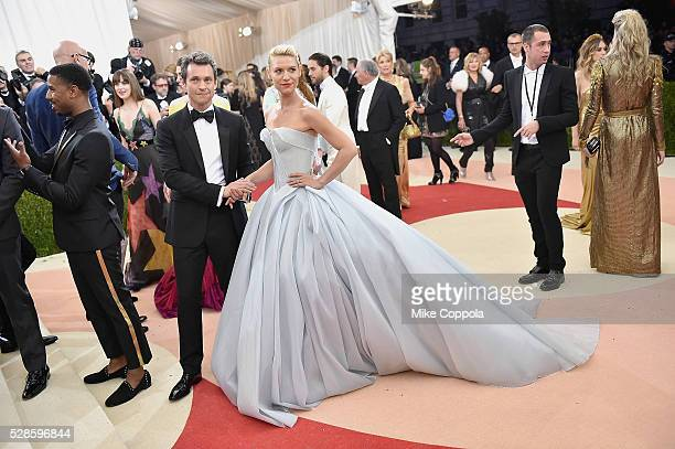 Hugh Dancy and Claire Danes attend the 'Manus x Machina Fashion In An Age Of Technology' Costume Institute Gala at Metropolitan Museum of Art on May...