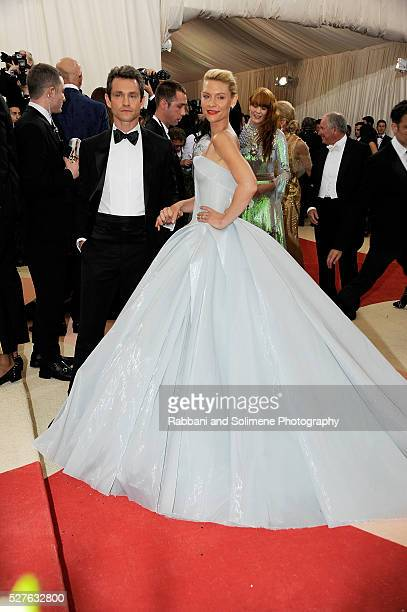 Hugh Dancy and Claire Danes attends 'Manus x Machina Fashion In An Age Of Technology' Costume Institute Gala at