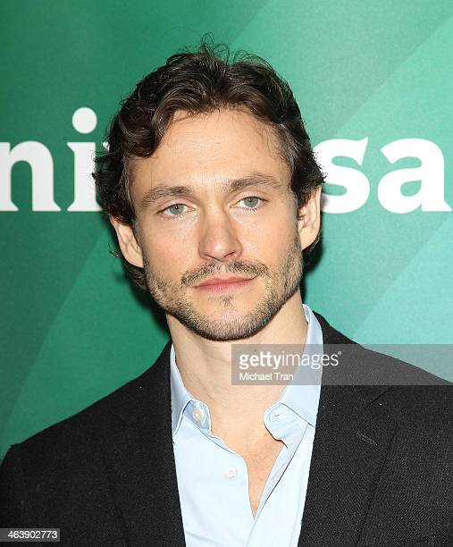 Hugh Dancy arrives at the NBC/Universal 2014 TCA Winter press tour held at The Langham Huntington Hotel and Spa on January 19 2014 in Pasadena...