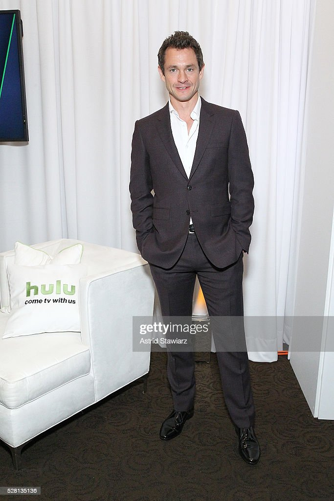 <a gi-track='captionPersonalityLinkClicked' href=/galleries/search?phrase=Hugh+Dancy&family=editorial&specificpeople=214056 ng-click='$event.stopPropagation()'>Hugh Dancy</a> attends the 2016 Hulu Upftont - Green Room on May 04, 2016 in New York, New York.