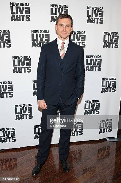 Hugh Dancy attends the New York Live Arts 2016 Gala at the Museum of Jewish Heritage on March 24 2016 in New York City