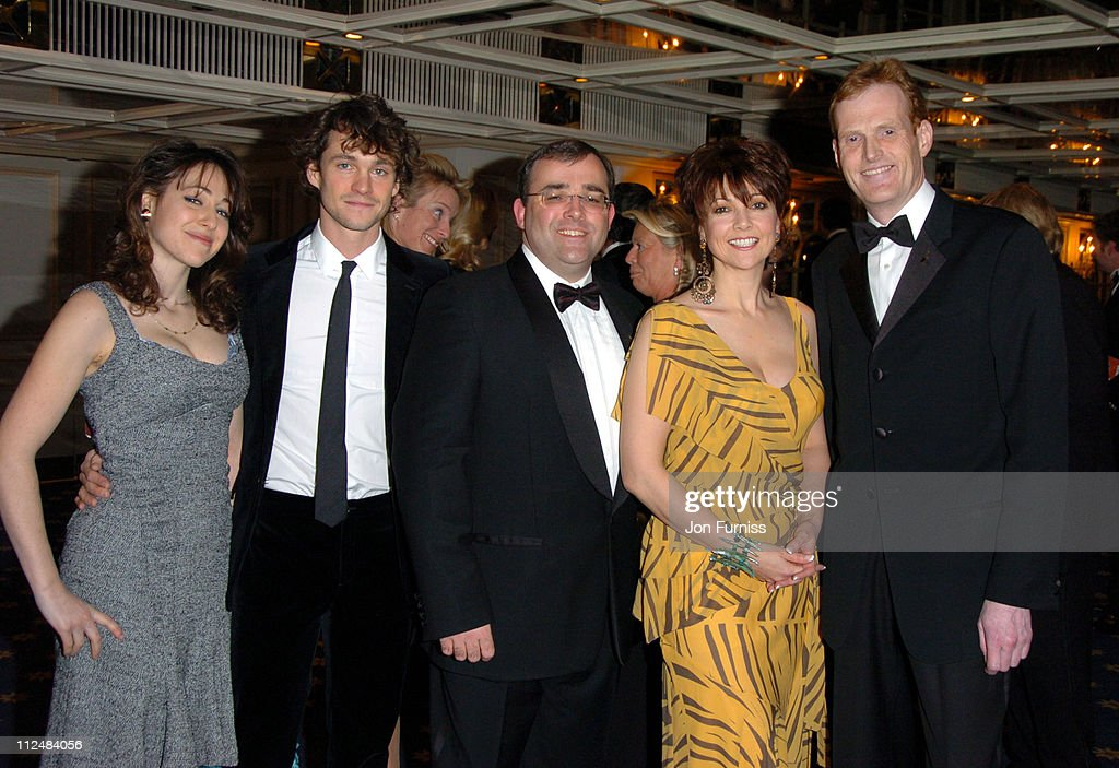 <a gi-track='captionPersonalityLinkClicked' href=/galleries/search?phrase=Hugh+Dancy&family=editorial&specificpeople=214056 ng-click='$event.stopPropagation()'>Hugh Dancy</a>, Neil Snow, <a gi-track='captionPersonalityLinkClicked' href=/galleries/search?phrase=Emma+Samms&family=editorial&specificpeople=626665 ng-click='$event.stopPropagation()'>Emma Samms</a> and Alex Sparks during Starlight Ball 2005 - Inside at Park Lane in London, Great Britain.