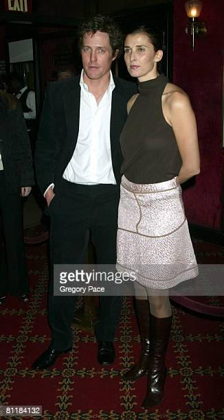 Hugh Grant and girlfriend Rosario Saxe Coburg