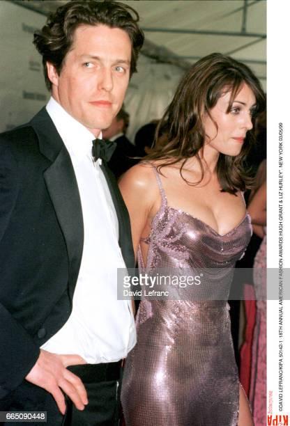 Hugh Grant and Liz Hurley