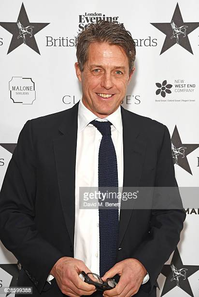 Hugh Grant arrives at The London Evening Standard British Film Awards at Claridge's Hotel on December 8 2016 in London England